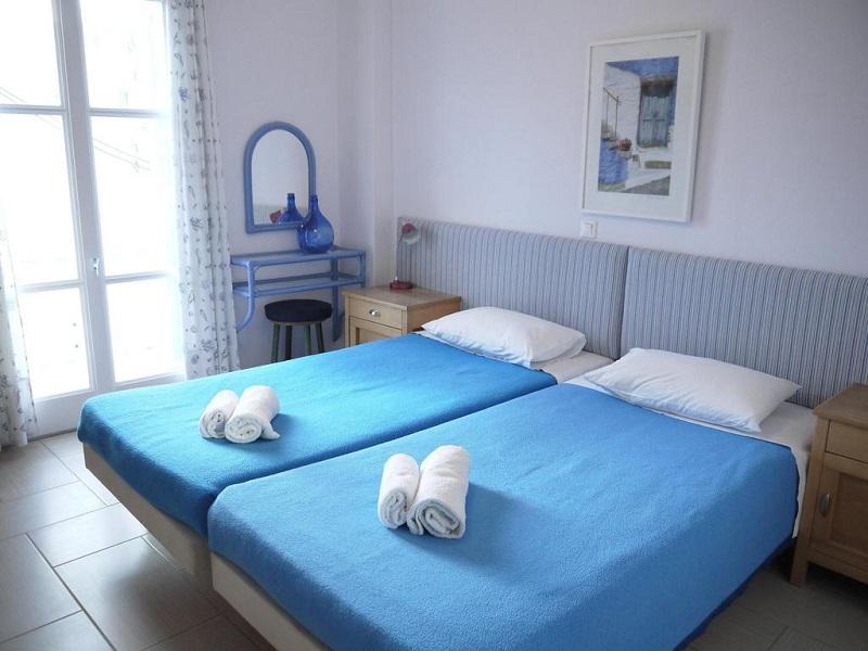 Quarto do Hotel Manto em Mykonos