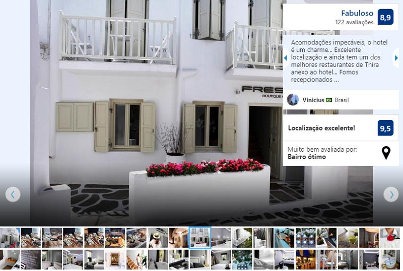 Fresh Boutique Hotel em Mykonos