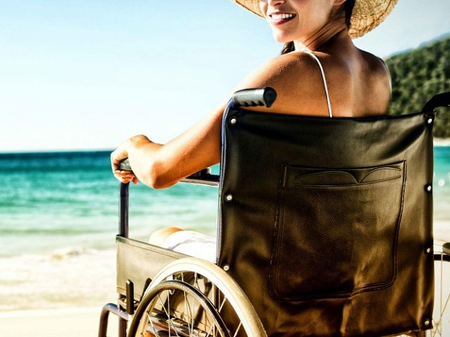 Deficientes físicos em Mykonos