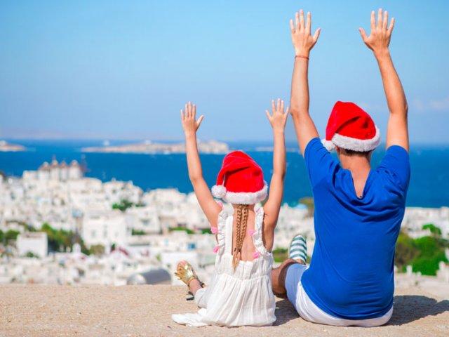 Natal em Mykonos
