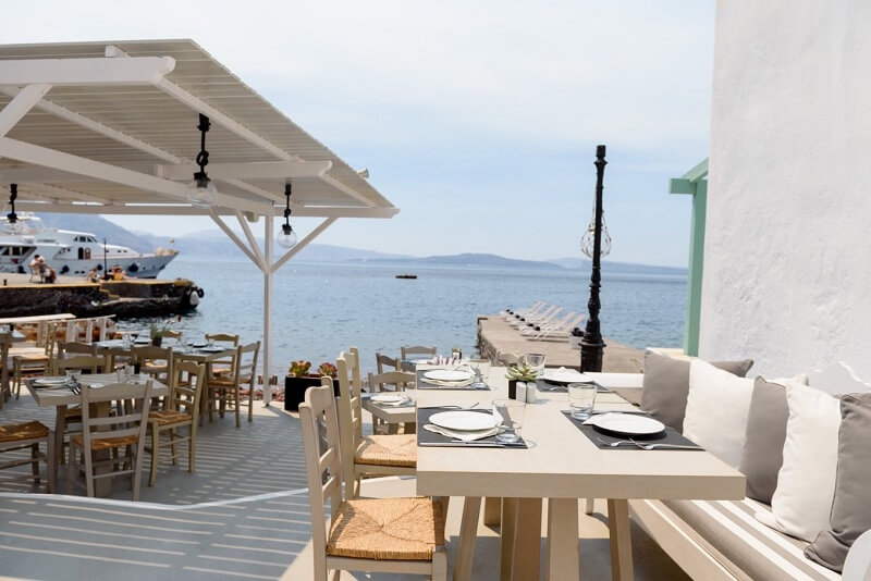 Restaurante Armeni - Oia