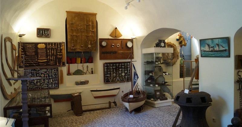Museu Marítimo em Santorini