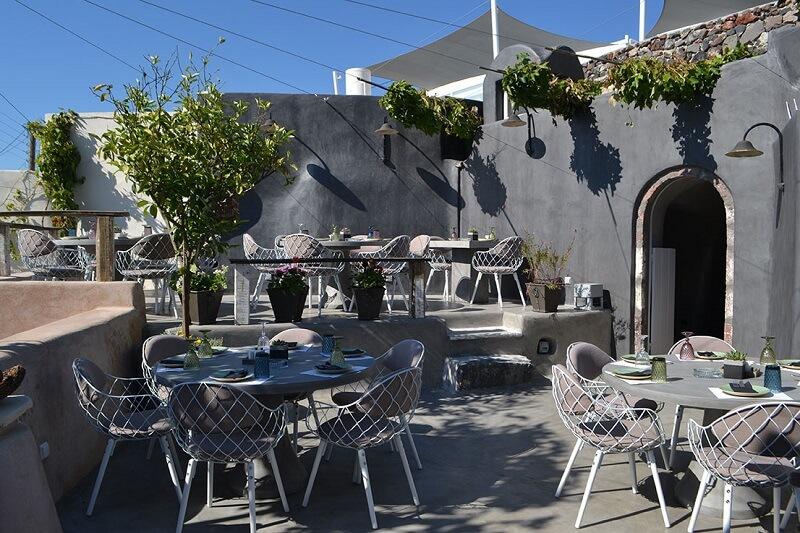 Restaurante Lefkes - Oia